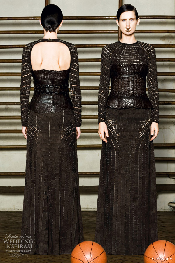 givenchy spring summer 2012 couture