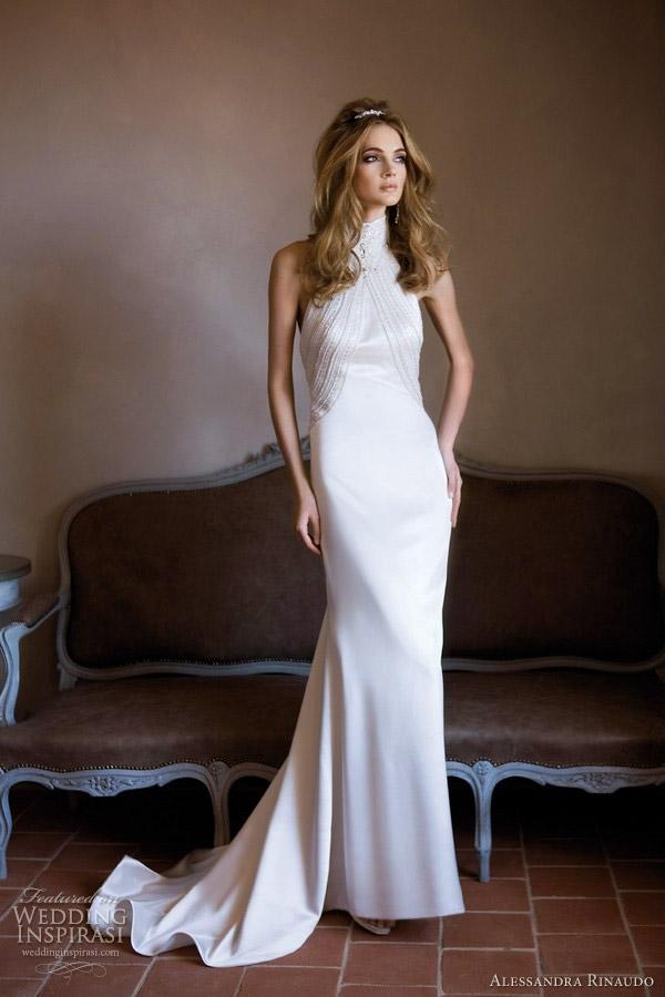 Alessandra rinaudo wedding dresses 2012 wedding for High neck wedding dresses