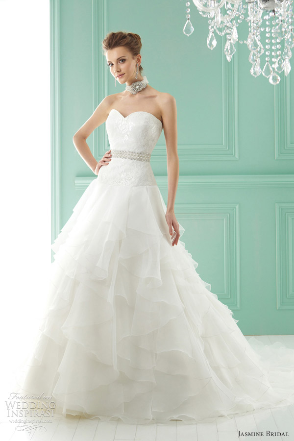 Jasmine bridal 2012 wedding dresses wedding inspirasi jasmine wedding gowns 2012 style f141002 junglespirit Gallery