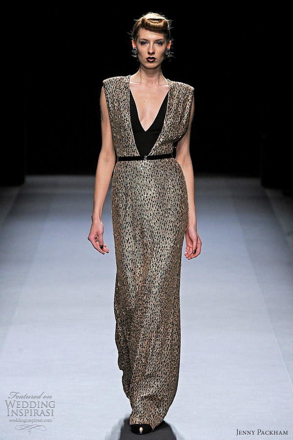 jenny packham fall winter 2012 gown