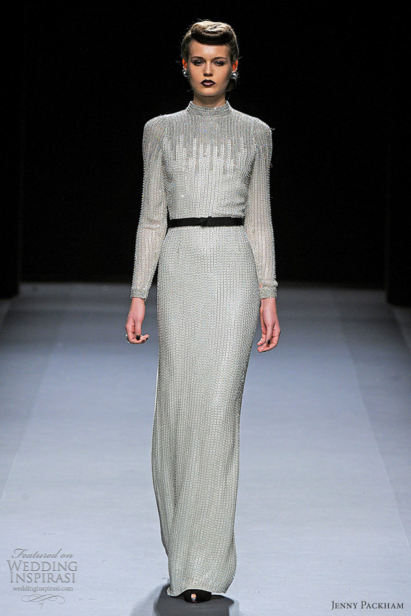 jenny packham fall winter 2012 gowns