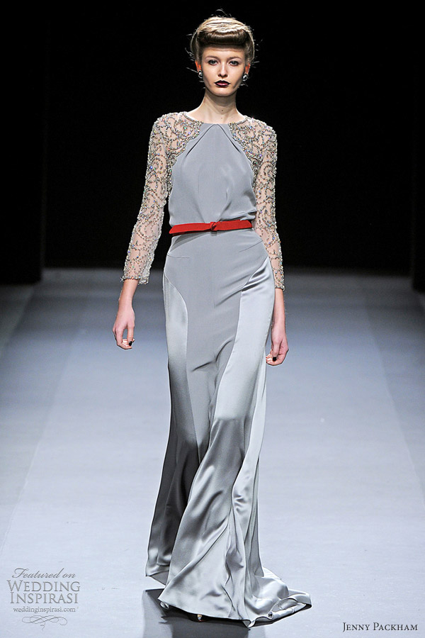 jenny packham fall winter 2012 ready to wear collection