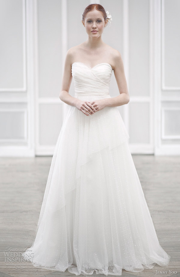 jenny yoo wedding dresses 2012 wedding inspirasi