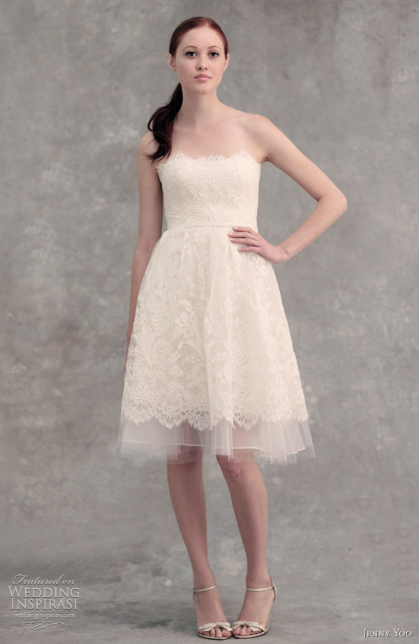Non traditional wedding dresses wedding dresses 2013 for Short wedding dresses 2012