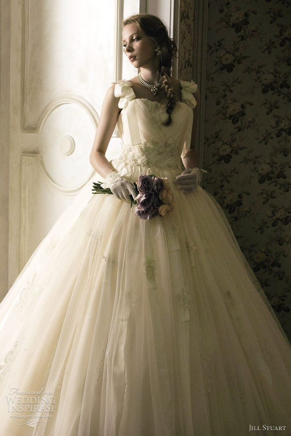 jill stuart 2012 wedding dress