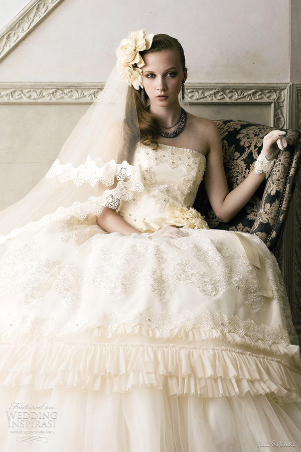 jill stuart 2012 wedding gowns