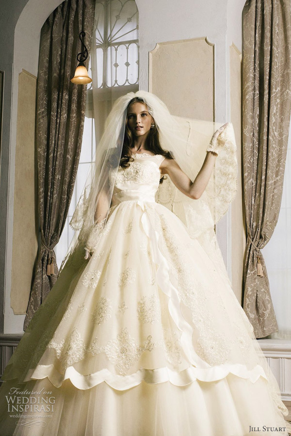 jill stuart wedding dress 2012