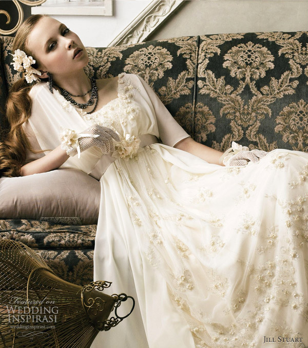 jill stuart wedding dress collection 2012