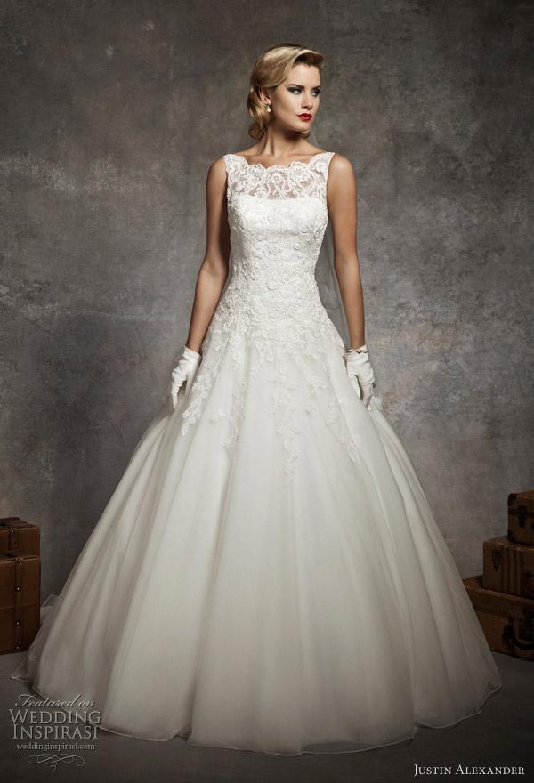 justin alexander 2013 weddomg gowns