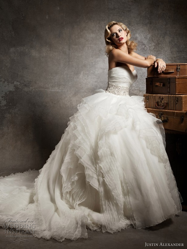 Justin Alexander 2013 — Preview Collection Wedding Dresses | Wedding ...
