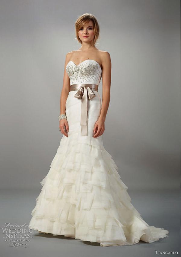 Liancarlo Wedding Dresses Fall 2012 Bridal Collection
