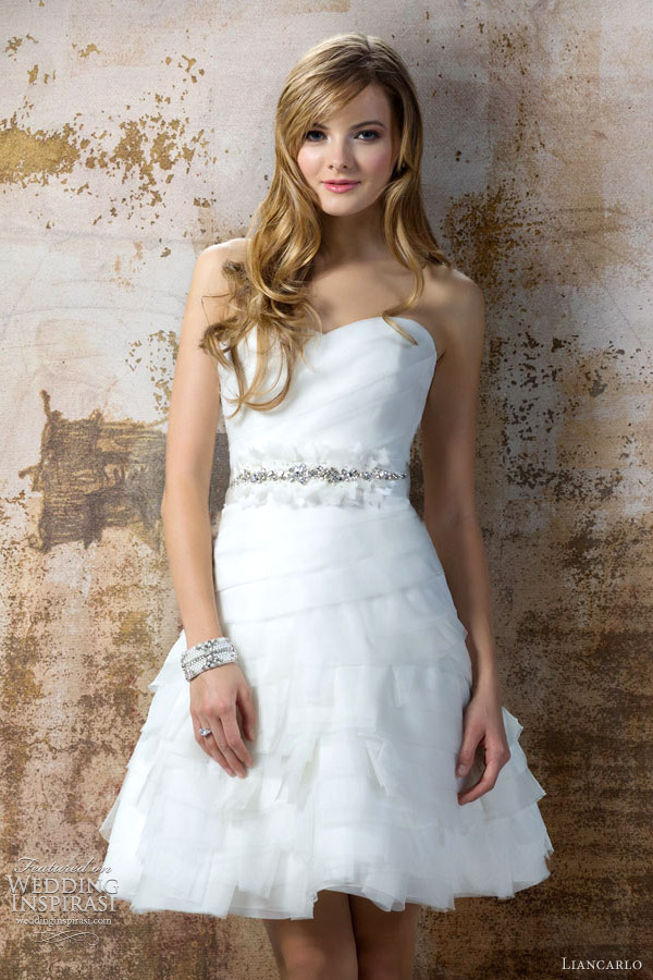 Liancarlo Wedding Dresses Fall 2012 Bridal Collection | Wedding ...