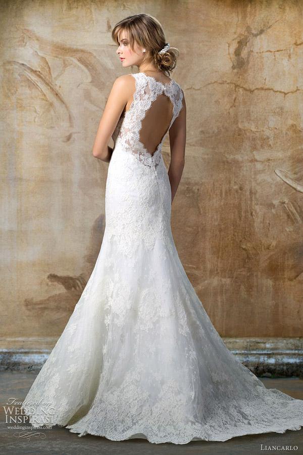 Lace Cap Sleeve Wedding Dress Keyhole Back