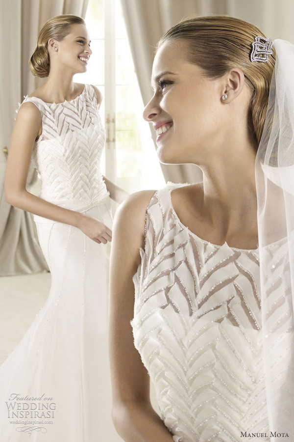 manuel mota for pronovias 2013 gales wedding dress
