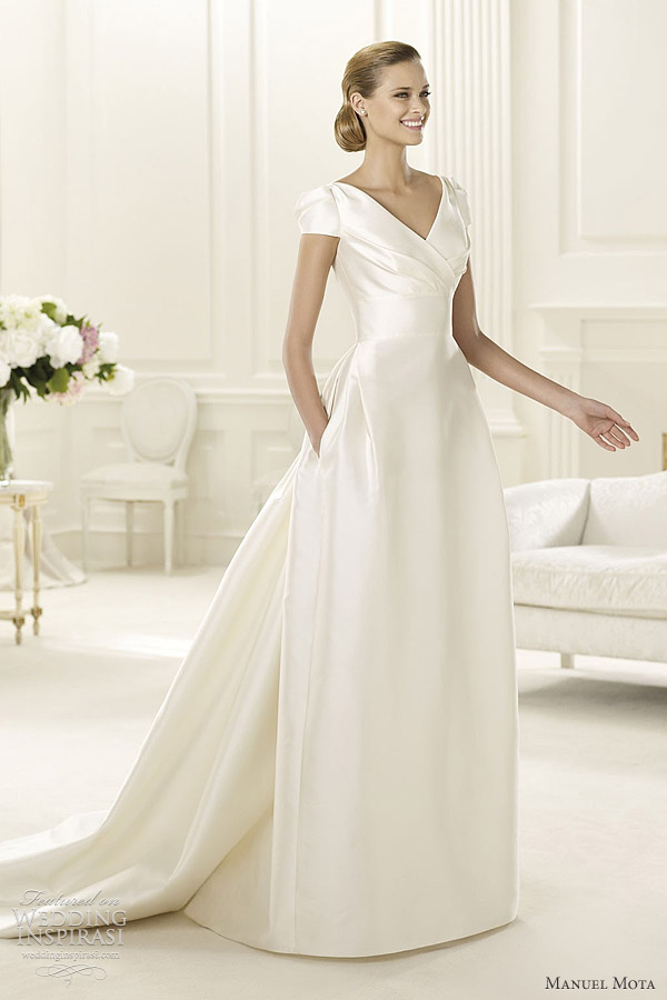 manuel mota for pronovias wedding dresses 2013 gabina