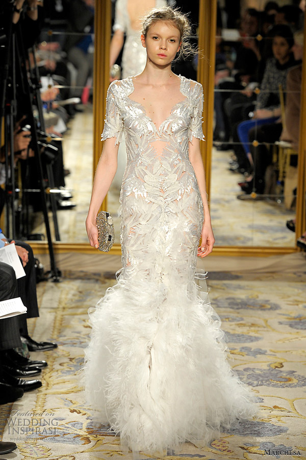 marchesa fall winter 2012 2013 collection wedding dress
