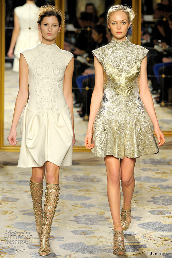 marchesa fall winter 2012 collection dresses