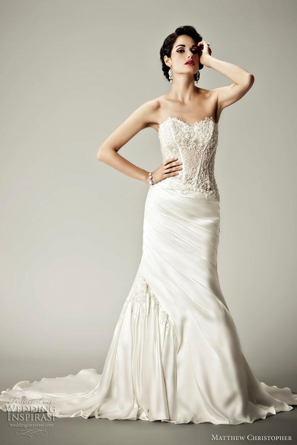 Matthew Christopher Wedding Dresses 2012 | Wedding Inspirasi