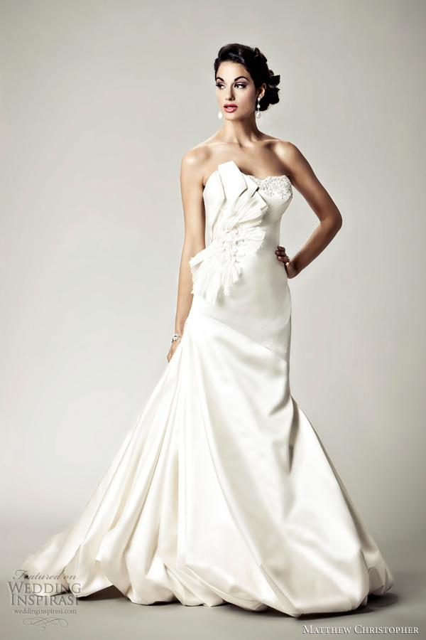 Matthew Christopher Wedding Dress. Awesome Matthew Christopher ...