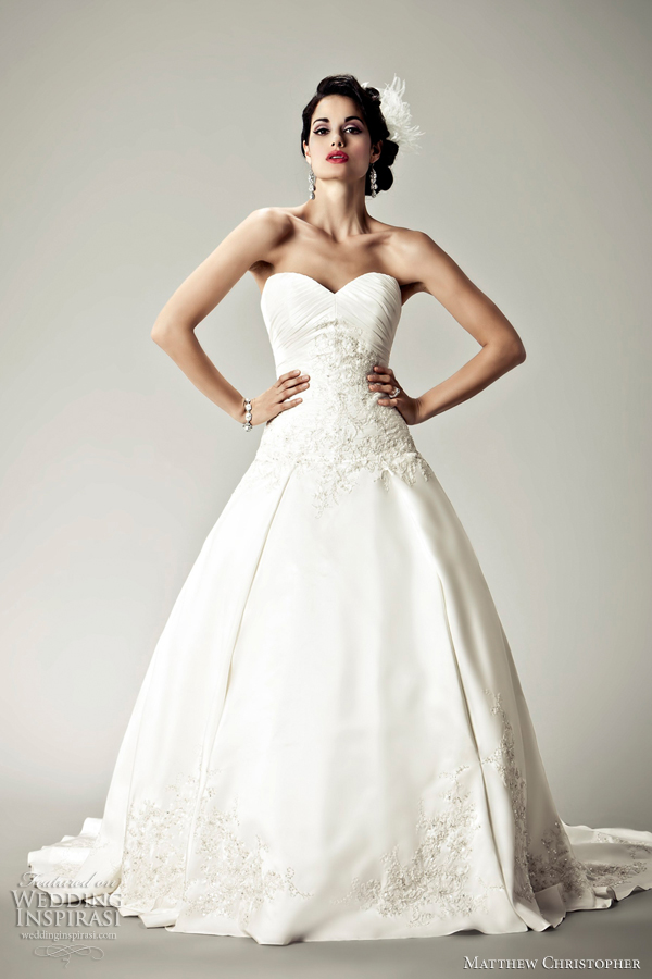 Matthew christopher 2012 bridal collection wedding for Matthew christopher wedding dress prices