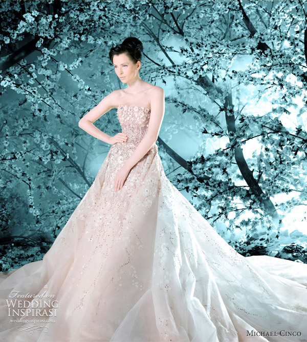 michael cinco bridal fall winter 2011 2012 collection