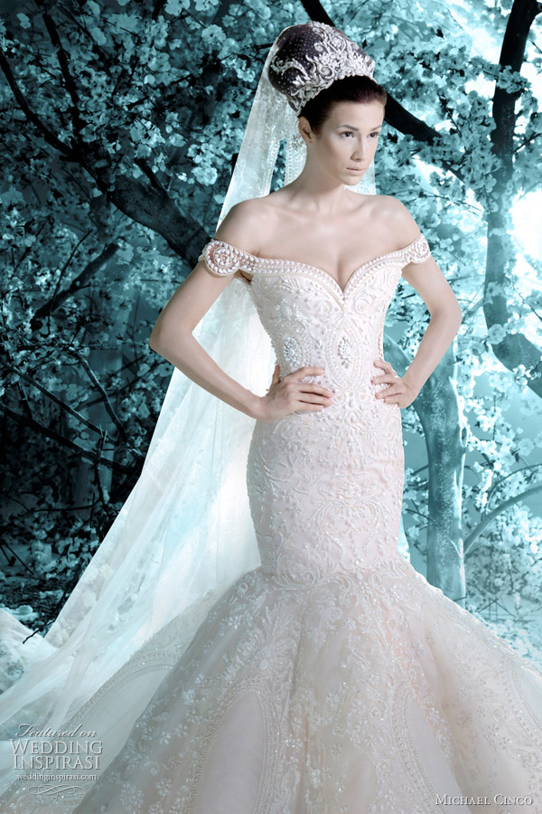 michael cinco wedding dress 2012