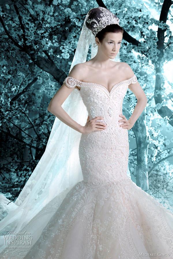 michael cinco wedding dress 2012