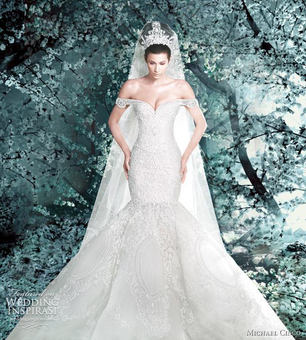 michael cinco wedding gowns 2012
