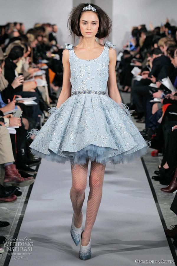 Oscar de la Renta Fall/Winter 2012-2013 Dresses | Wedding Inspirasi