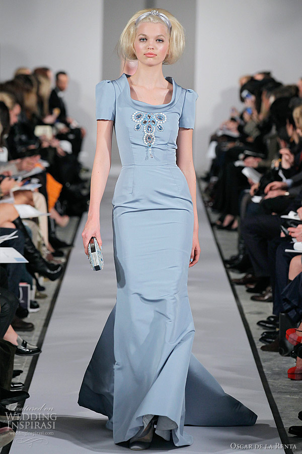 Oscar de la Renta Fall/Winter 2012-2013 Dresses | Wedding Inspirasi ...