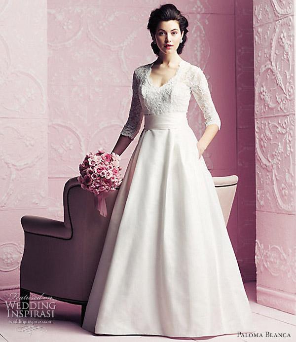 paloma blanca 2012 wedding dresses