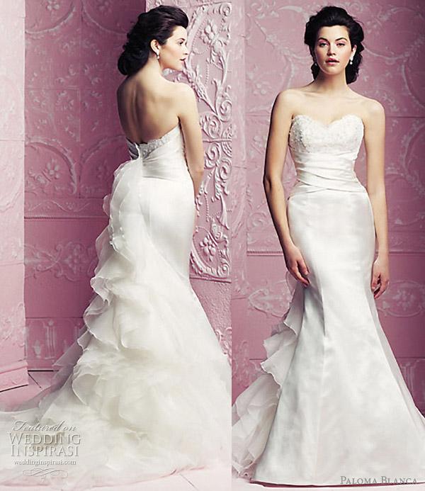 paloma blanca wedding gowns 2012
