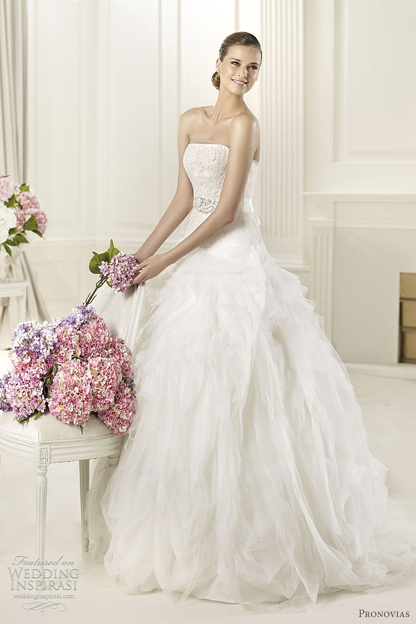 pronovias wedding dresses 2013 - dorado ball gown