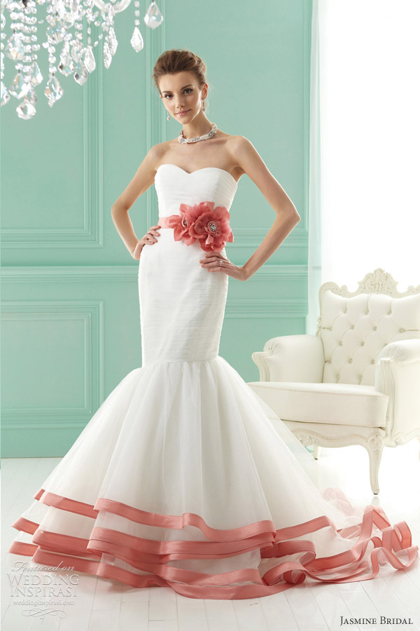 Wedding Dresses Color Red : Jasmine bridal wedding dresses inspirasi