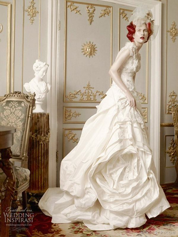 st pucchi 2012 couture wedding dresses