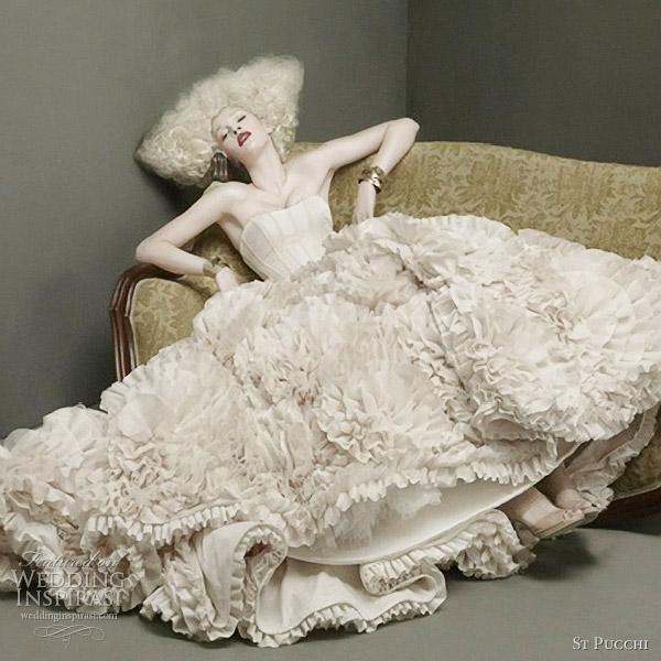 St. Pucchi Couture Wedding Dresses 2012   Wedding Inspirasi   Page 2