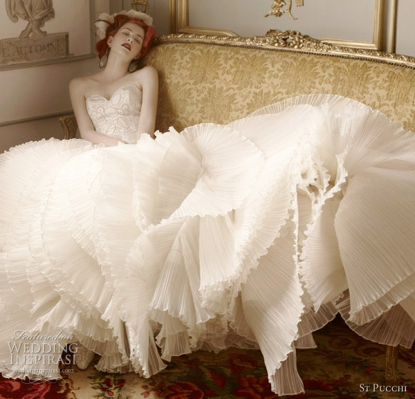 Couture Wedding Dresses And Bridal Gowns: St. Pucchi Couture Wedding Dresses 2012
