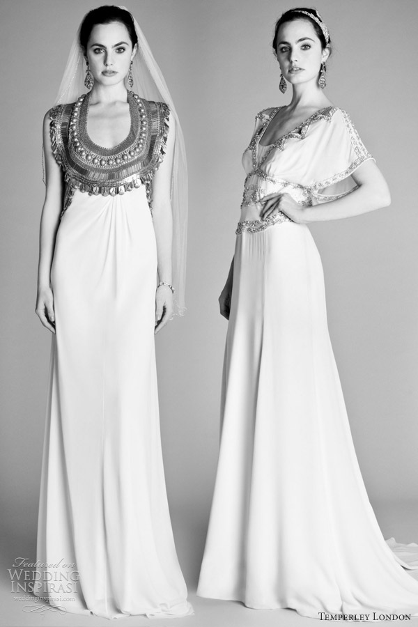 temperley 2012 london bridal gowns