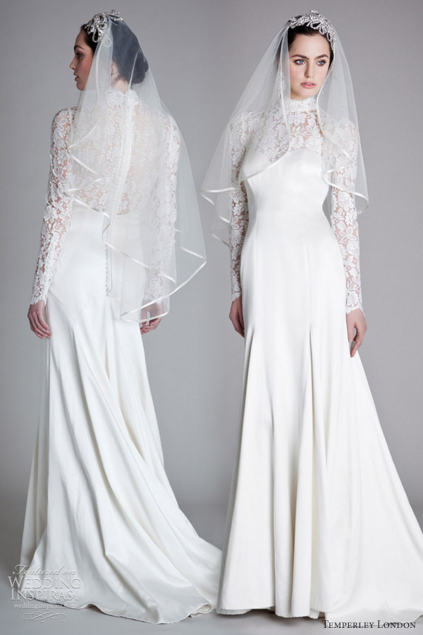 temperley london 2012 grace wedding dress