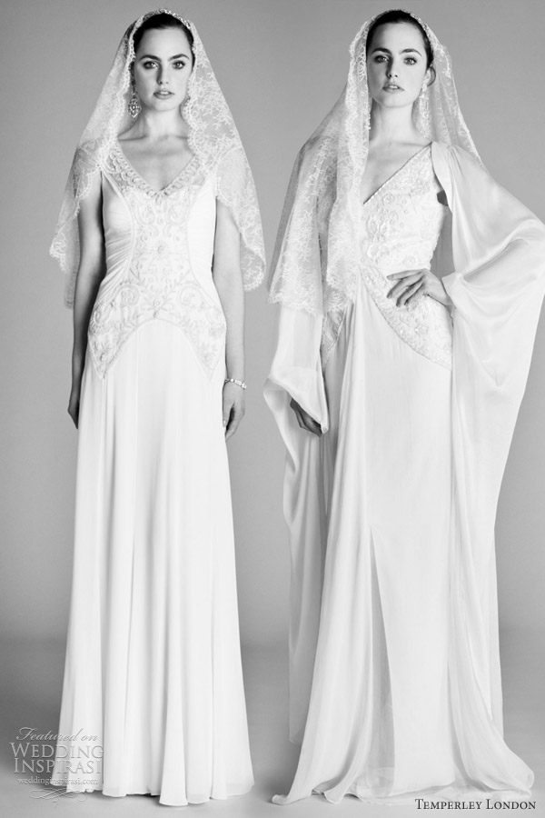 temperley london 2012 wedding dresses