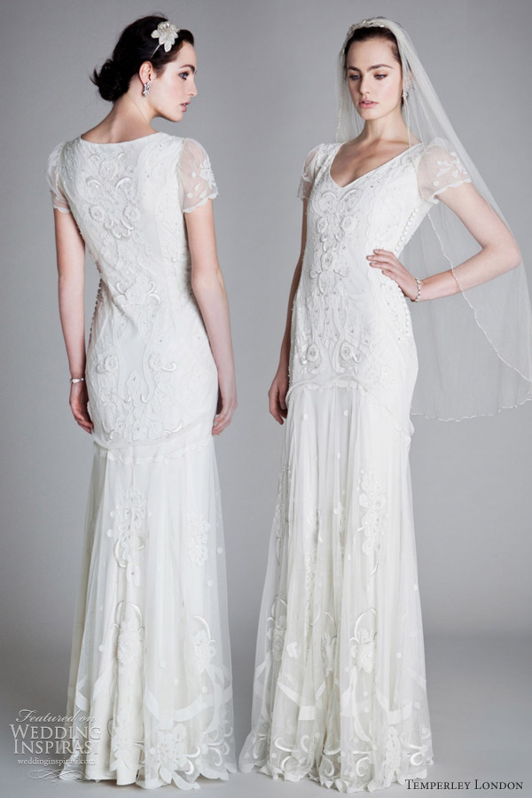 temperley london bridal 2012 elisha wedding dress 1