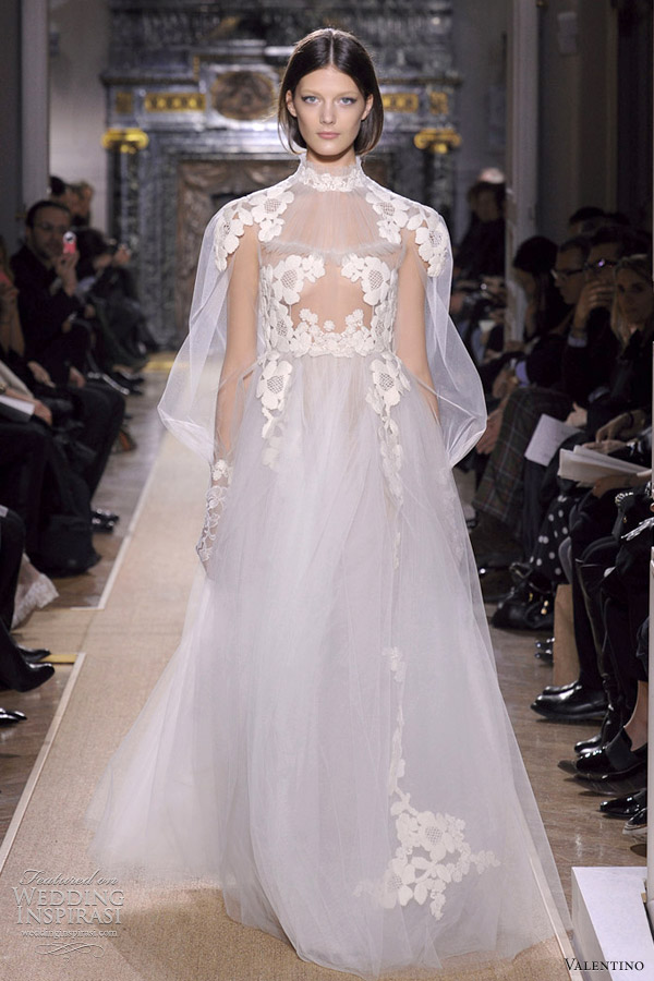 valentino wedding dress spring 2012 couture