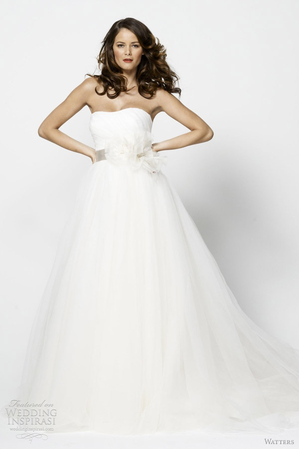 watters 2012 flavia wedding dress