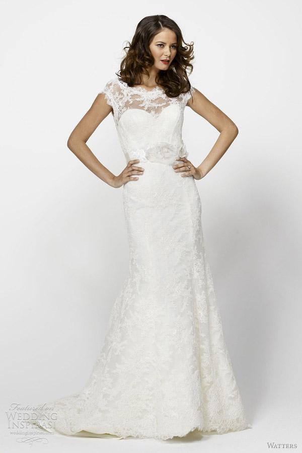 Watters Bridal Spring 2012 Collection Wedding Inspirasi