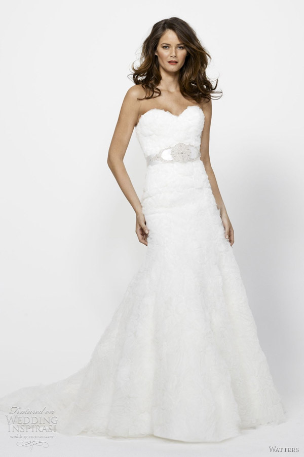 watters wedding dresses spring 2012 chrissie