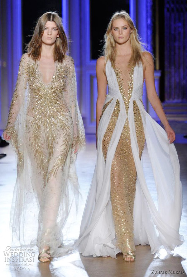 1000 images about gold oro on pinterest valentin for Zuhair murad wedding dress prices