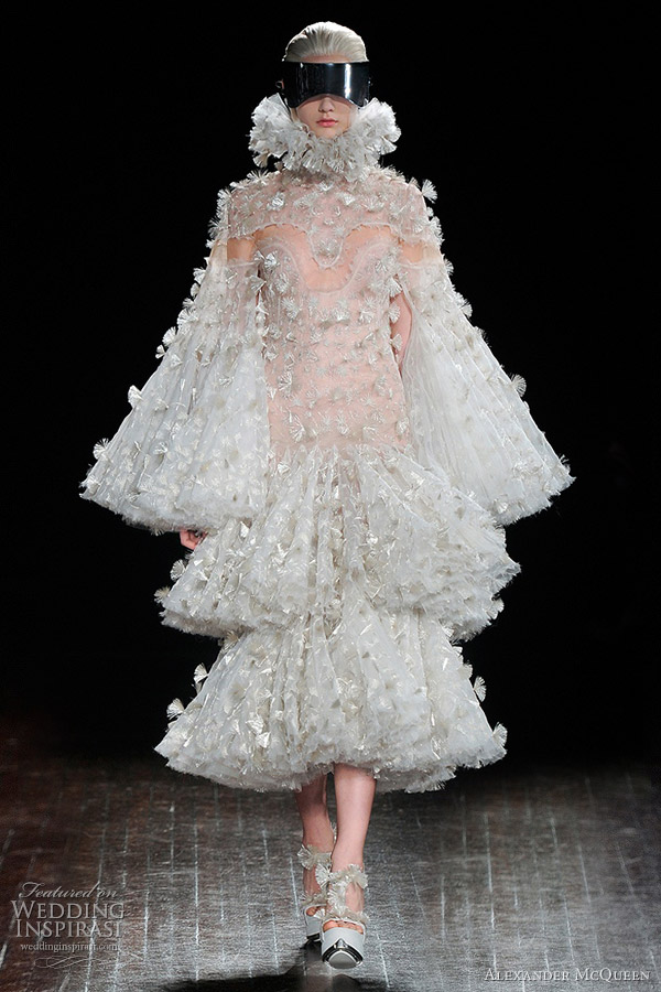 Alexander Mcqueen Fall Winter 2012 2013 Wedding Inspirasi