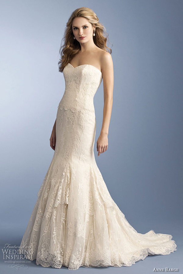 Anne Barge Wedding Dresses Spring 2012 Wedding Inspirasi