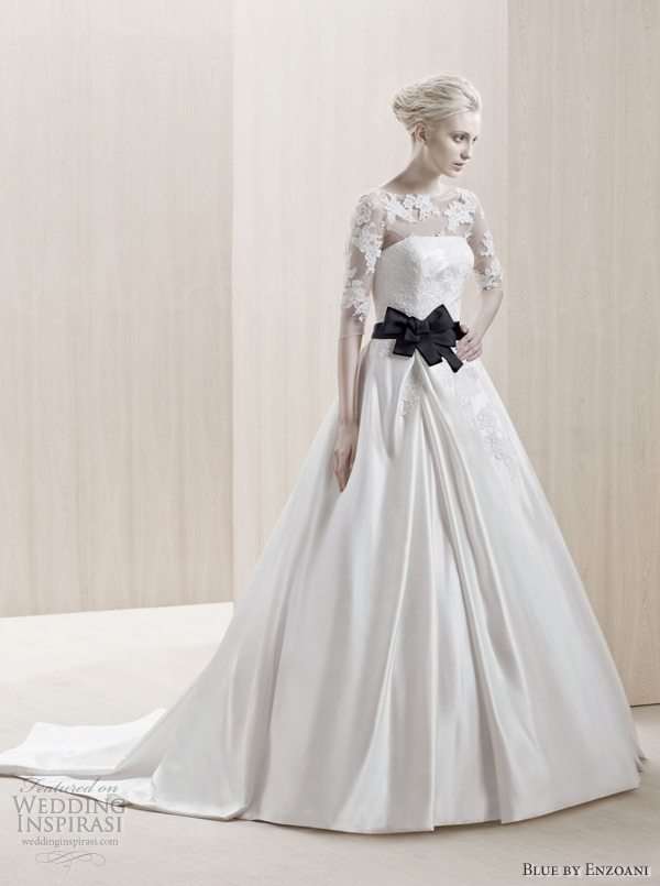 blue by enzoani 2012 collection embessa