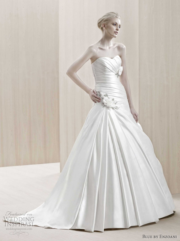 blue by enzoani 2012 ende wedding dress